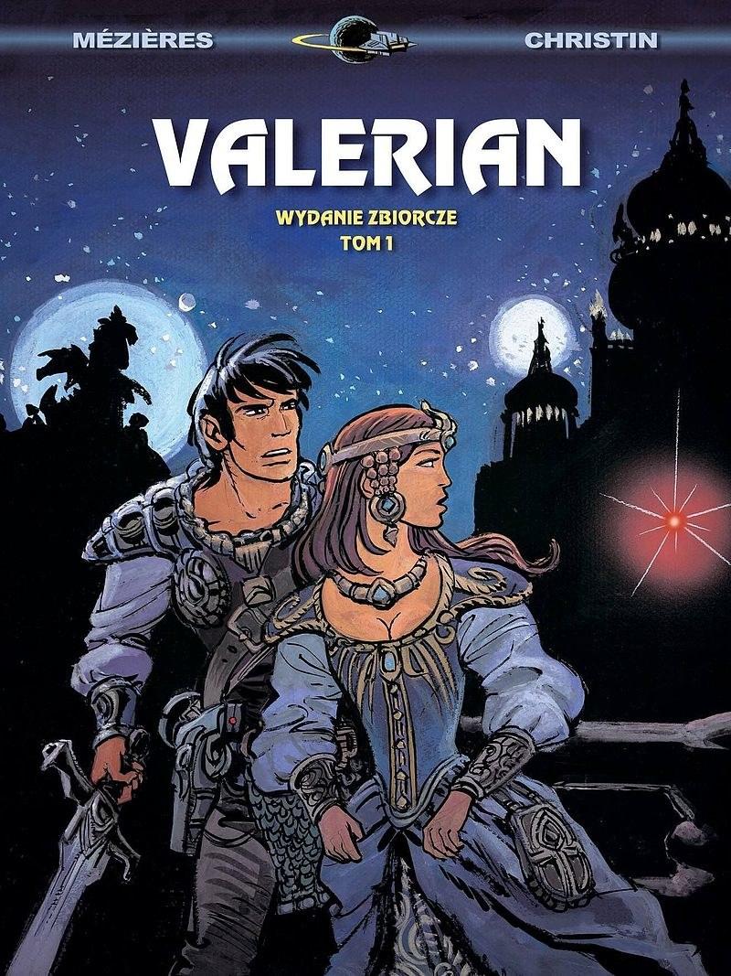 Okładka pierwszego tomu wydania zbiorczego Valeriana /materiały prasowe