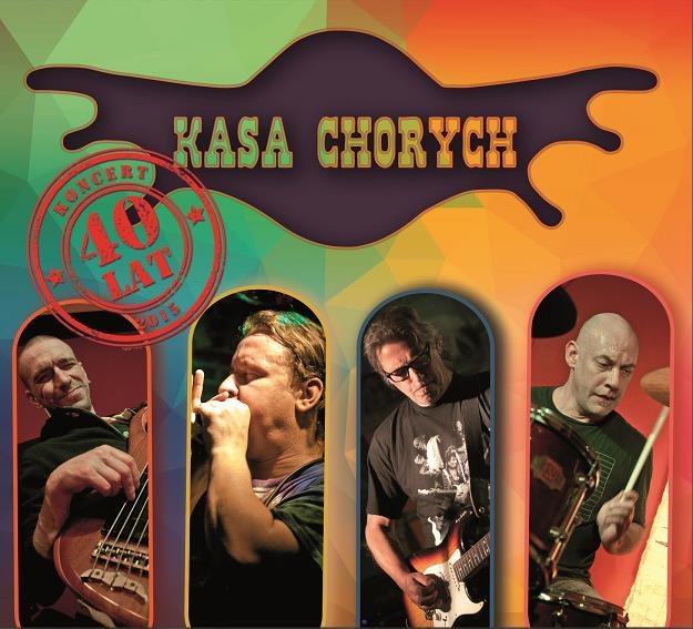 """Okładka płyty """"40 - live"""" Kasy Chorych /"""