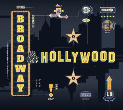 """Okładka płyty """"Broadway & Hollywood"""" /materiały prasowe"""