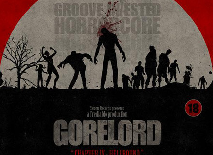 """Okładka płyty """"Chapter IV - Hellbound"""" Gorelord /"""