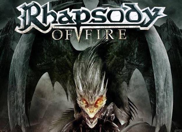"""Okładka płyty """"Dark Wings Of Steel"""" Rhapsody of Fire /"""