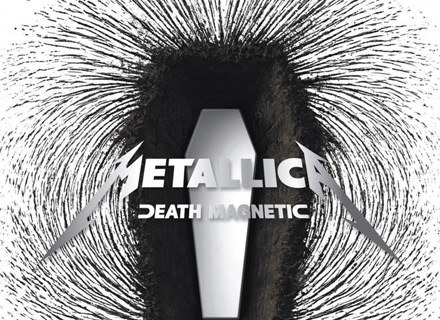 "Okładka płyty ""Death Magnetic"" Metalliki /"