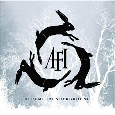 """Okładka płyty """"Decemberunderground"""" AFI /"""