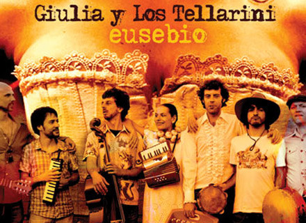 "Okładka płyty ""Eusebio"" grupy Giulia y Los Tellarini /"