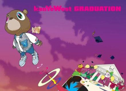"Okładka płyty ""Graduation"" Kanye Westa /"