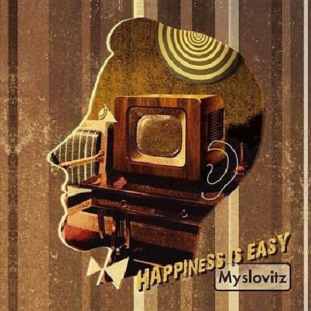 """Okładka płyty """"Happiness Is Easy"""" Myslovitz /"""