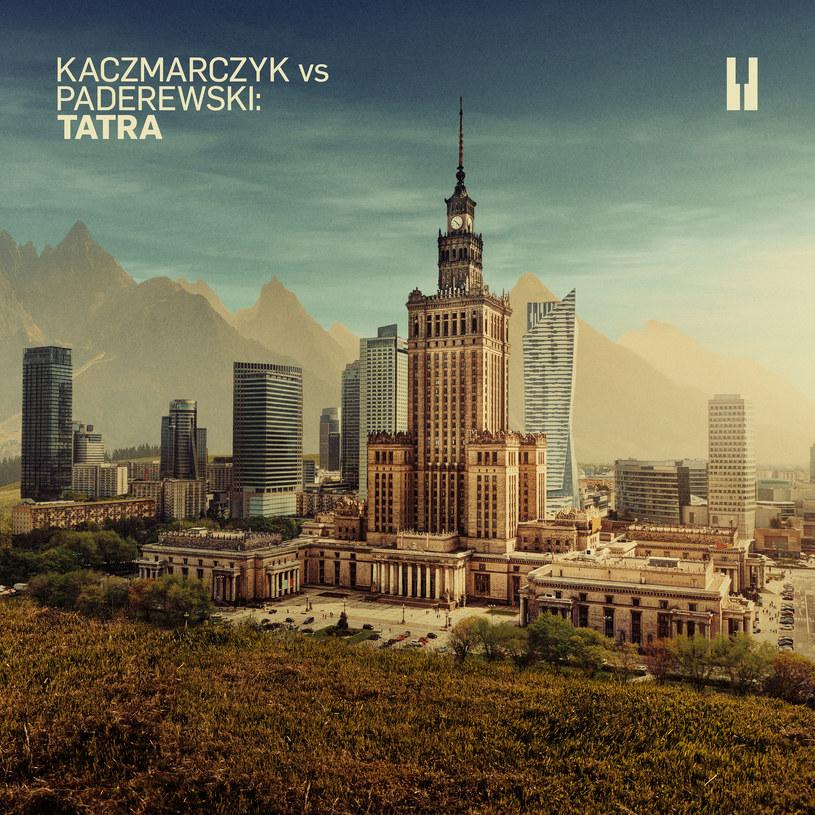 """Okładka płyty """"Kaczmarczyk vs Paderewski: Tatra"""" /materiały prasowe"""