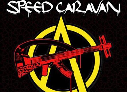 """Okładka płyty """"Kalashnik Love"""" Speed Caravan /"""