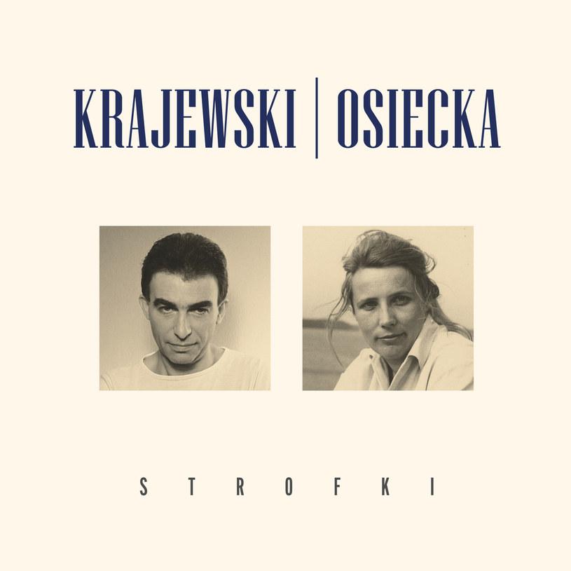 """Okładka płyty Krajewski/Osiecka """"Strofki"""" /materiały prasowe"""
