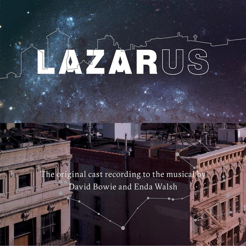 """Okładka płyty """"Lazarus"""" /materiały prasowe"""