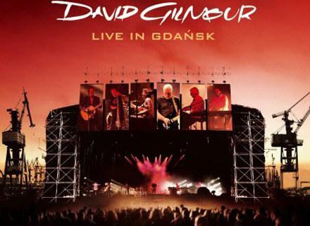"""Okładka płyty """"Live In Gdańsk"""" Davida Gilmoura /"""