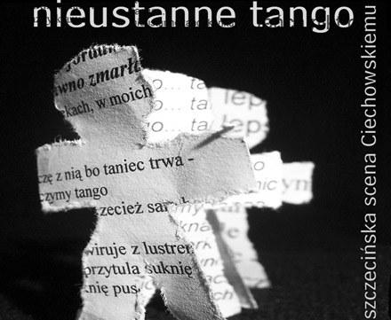 """Okładka płyty """"Nieustannego tango, czyli szczecińska scena Ciechowskiemu"""" /"""