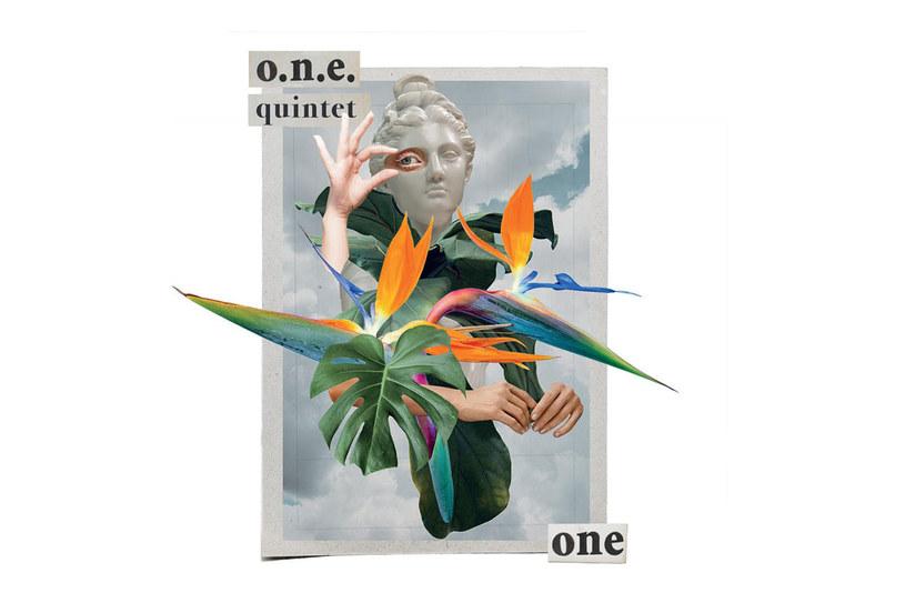 Okładka płyty ONE zespołu O.N.E. Quintet /materiały prasowe