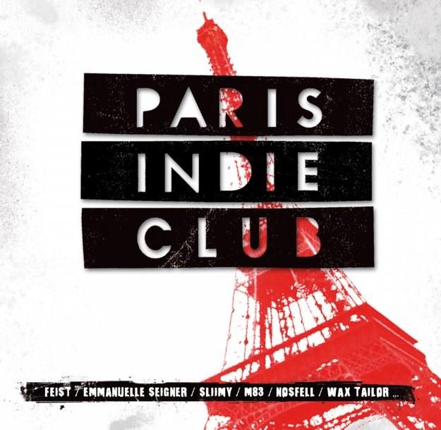 """Okładka płyty """"Paris Indie Club"""" /"""