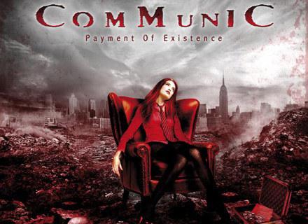 """Okładka płyty """"Payment Of Existence"""" Communic /"""