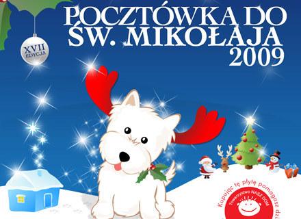 """Okładka płyty """"Pocztówka do Św. Mikołaja 2009"""" /"""
