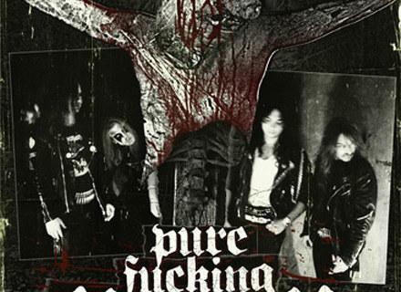 """Okładka płyty """"Pure Fucking Mayhem"""" /"""