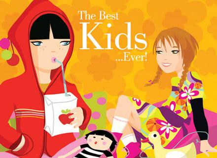 """Okładka płyty """"The Best Kids... Ever!"""" /"""