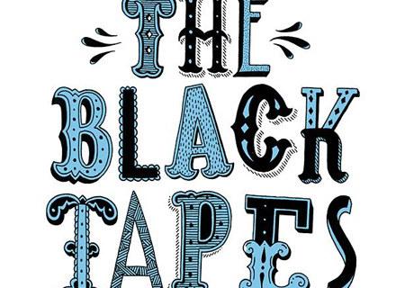 """Okładka płyty """"The Black Tapes"""" /"""