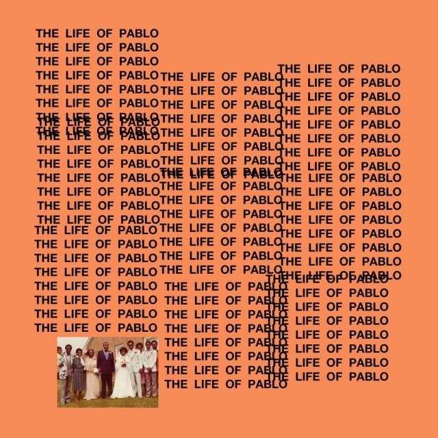 "Okładka płyty ""The Life of Pablo"" /"