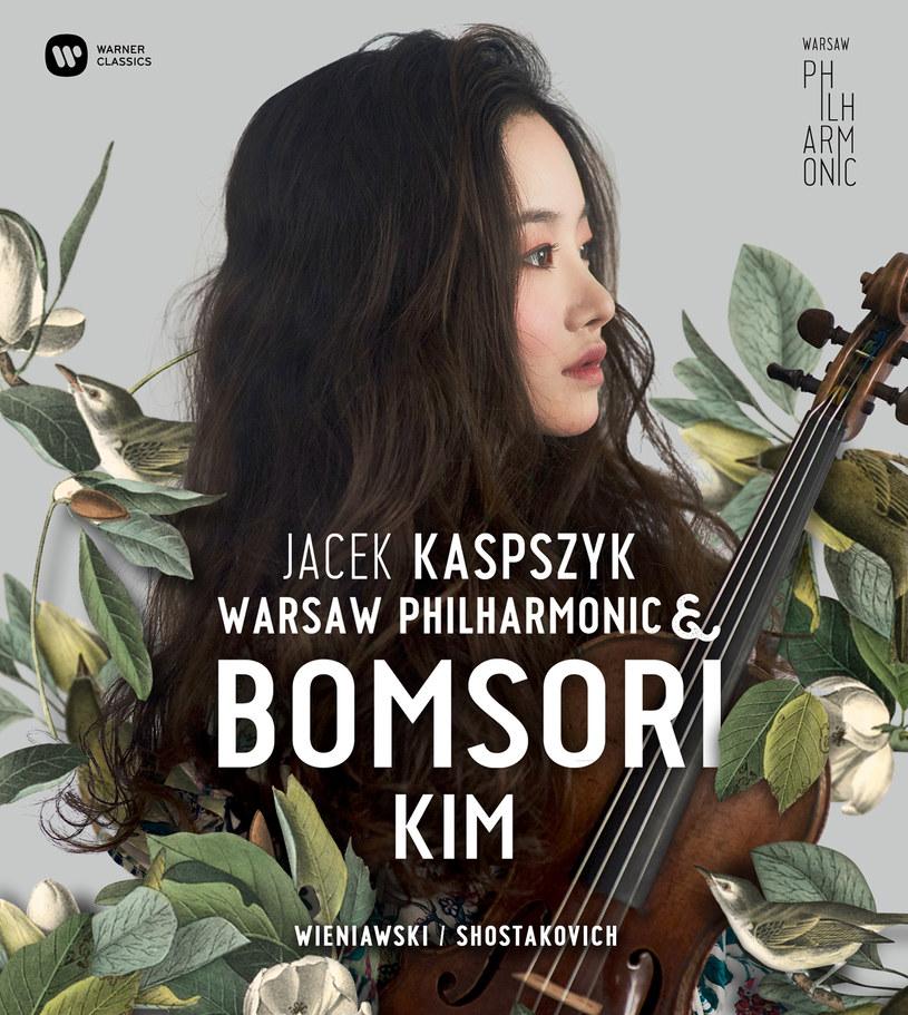 """Okładka płyty """"Warsaw Philharmonic & Bomsori Kim"""" /materiały prasowe"""