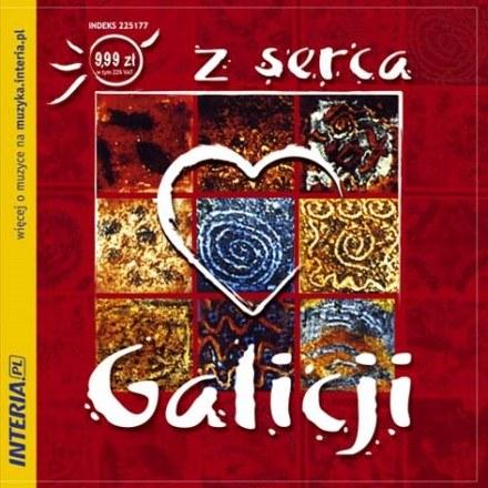 """Okładka płyty """"Z serca Galicji"""" /"""