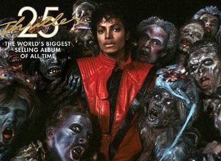 """Okładka reedycji albumu """"Thriller"""" /"""