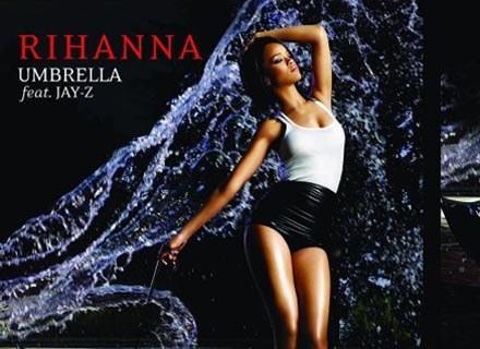 """Okładka singla """"Umbrella"""" Rihanny /"""