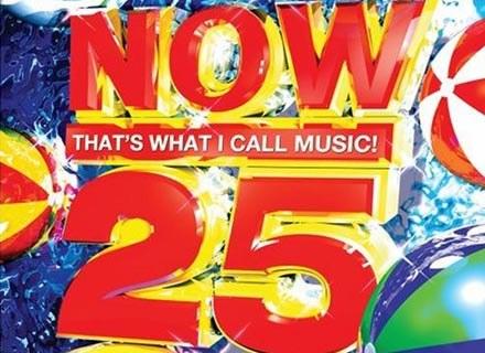 """Okładka składanki """"NOW! That's What I Call Music 25"""" /"""