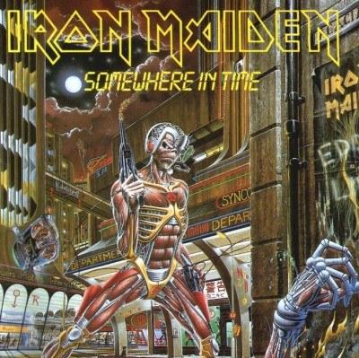 """Okładka """"Somewhere In Time"""" Iron Maiden /"""