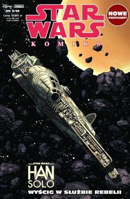 """Okładka """"Star Wars Komiks 3/2018"""" /materiały prasowe"""