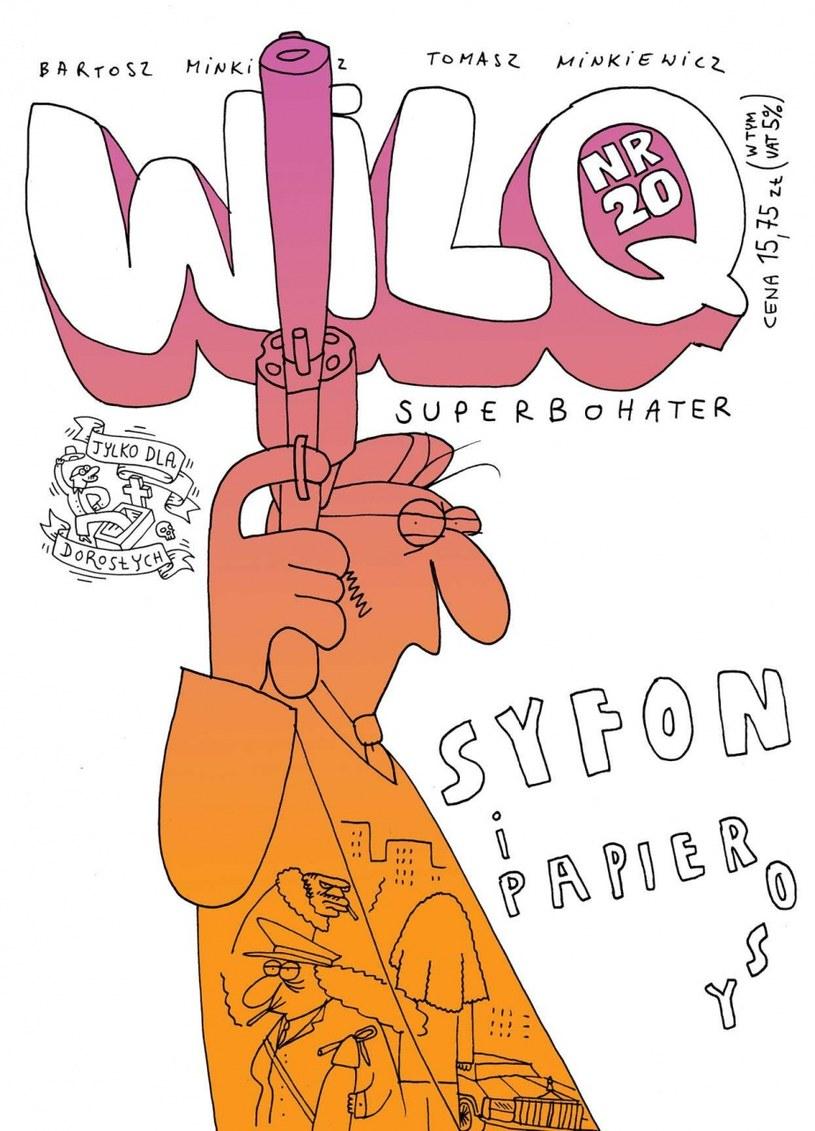 Okładka Wilq Superbohater: Syfon i papierosy /materiały prasowe