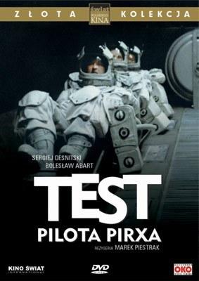 """Okładka wydania DVD """"Testu Pilota Pirxa"""" /"""