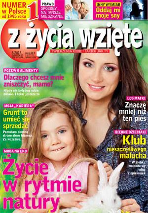 """Okładka """"Z życia wzięte"""" 03/2013 /Z życia wzięte"""