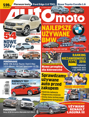 okładka /Auto Moto