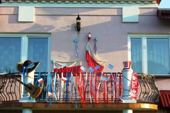 Okna i balkony przystrojone na Euro. Zobacz zdjęcia z czwartej rundy konkursu