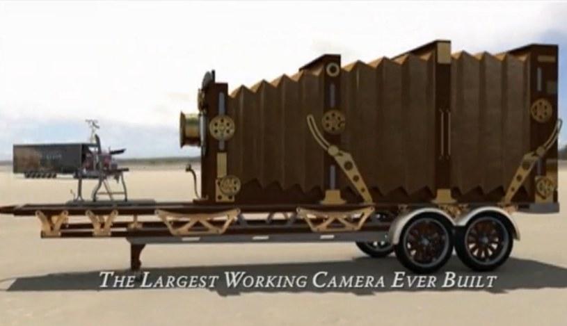 """""""Oko Ameryki"""" - największy aparat analogowy na świecie /materiały prasowe"""