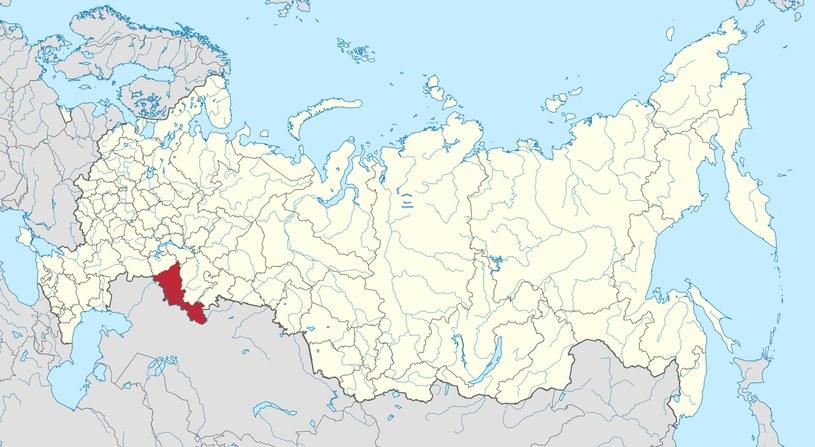 Okolice Orenburga, gdzie spadła kapsuła z Wołynowem na pokładzie /Wikimedia Commons /domena publiczna