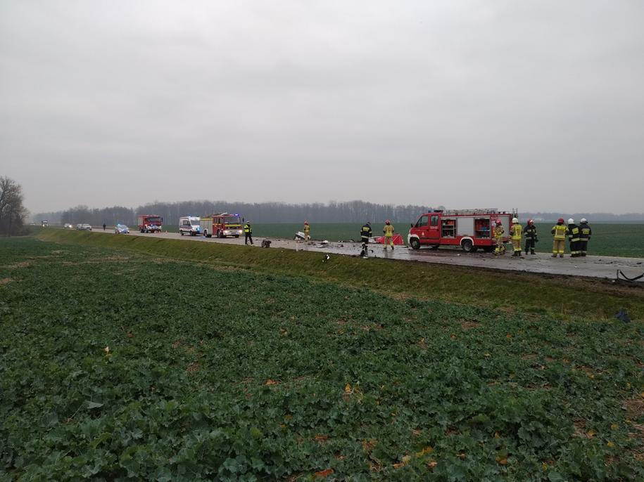 Okoliczności wypadku pod Świdnicą wyjaśnia policja i prokurator /Bartek Paulus /RMF MAXXX