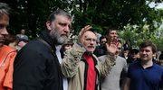 Około 10 tys. przeciwników Putina wspólnie spacerowało po Moskwie