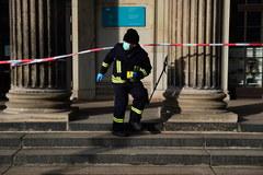 Okradziono muzealny skarbiec w Dreźnie