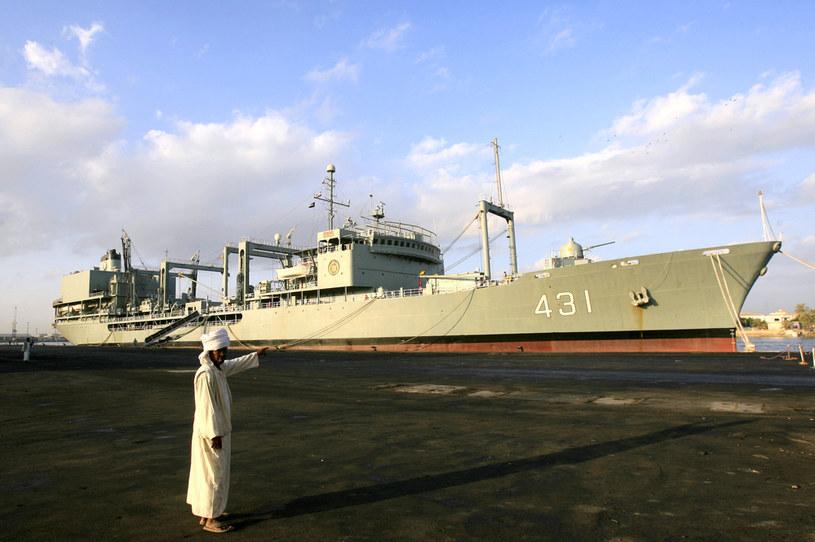 Okręt Chark był jednostką wsparcia, która uzupełniała zapasy innych okrętów; zdj. ilustracyjne /AFP