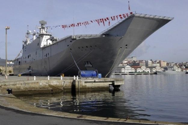 Okręt Juan Carlos I będzie wzorem dla tureckiej jednostki amfibijnej /AFP