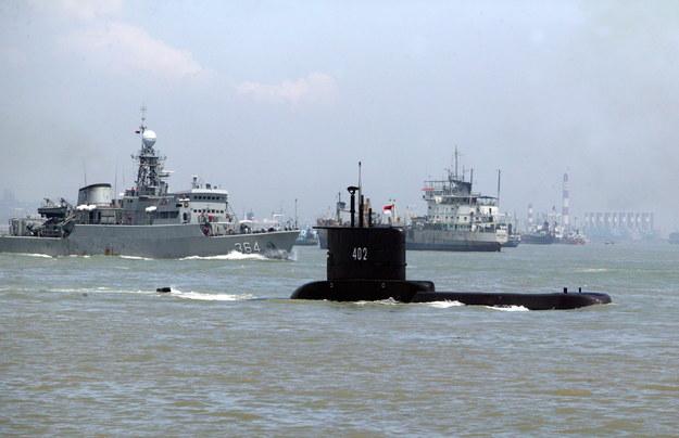 Okręt podwodny KRI Nanggala-402 na zdjęciu archiwalnym indonezyjskiej Marynarki Wojennej /INDONESIAN NAVY / HANDOUT /PAP/EPA