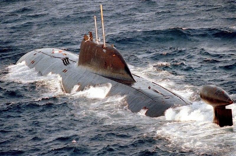 Okręt podwodny projektu 941, w kodzie NATO Akula /Wikimedia Commons /materiały prasowe
