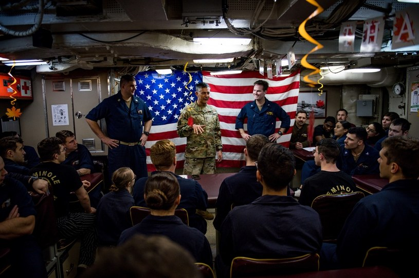 """Okręt podwodny USS """"Alaska"""" wrócił z patrolu prawdopodobnie na początku lutego 2020 roku. Że w Chinach pojawił sie nowy wirus dowiedzieli się dopiero w porcie /Mass Communication Specialist 2nd Class Jonathan Nelson /domena publiczna"""