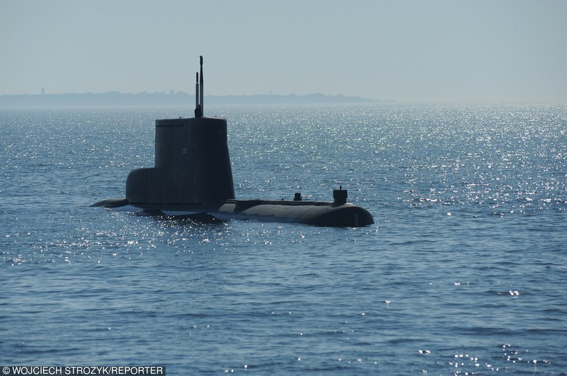 Okręt podwodny, zdj. ilustracyjne /Wojciech Stróżyk /Reporter