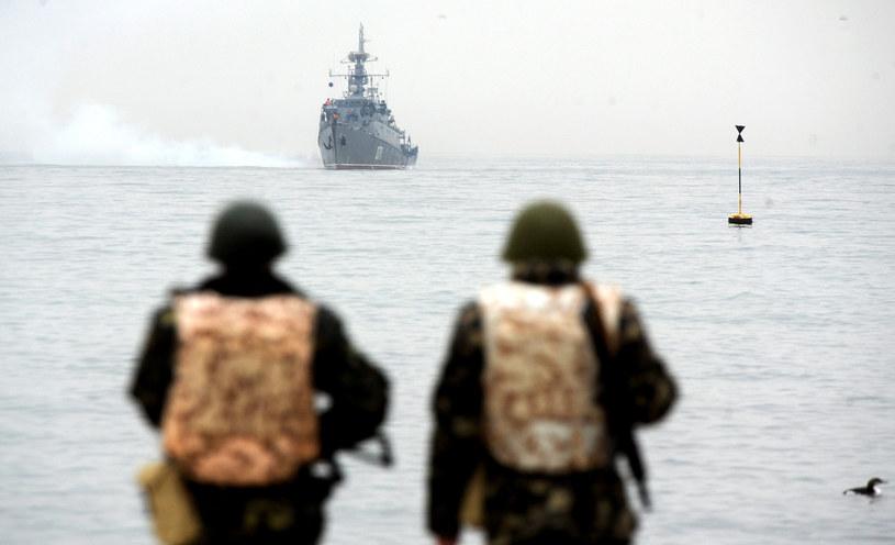 Okręt rosyjskiej floty ( zdj. ilustracyjne) /AFP