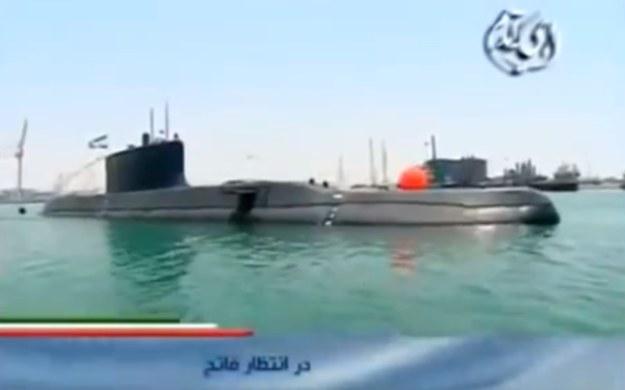 Okręt typu Fateh.   Fot. IRIB /materiały prasowe