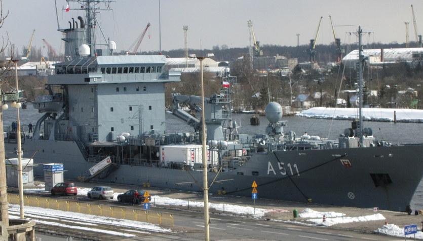 Okręty Deutsche Marine w Szczecinie